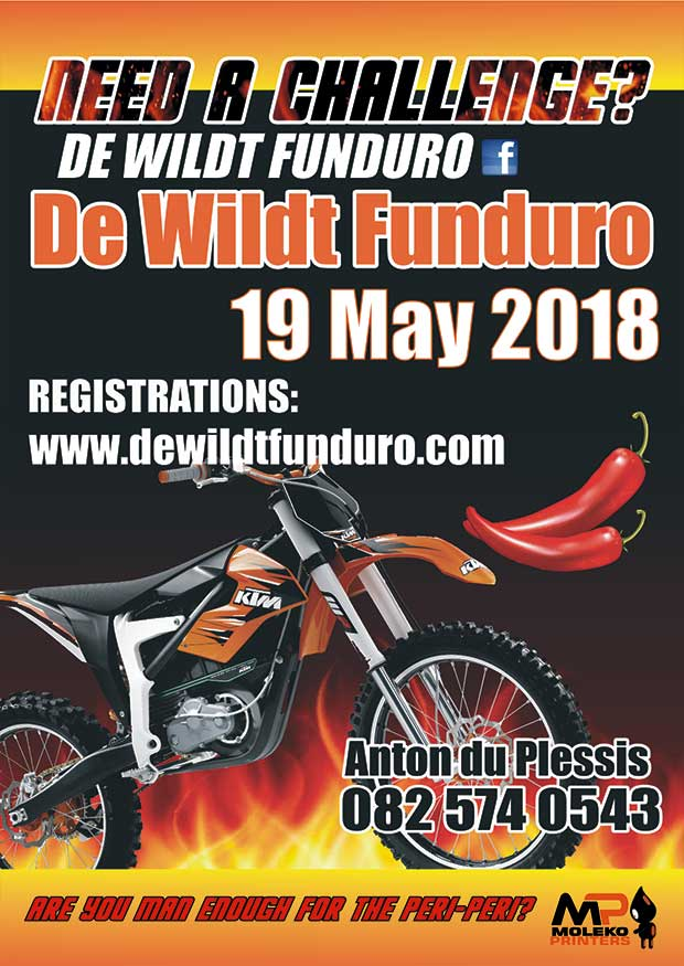 De Wildt Funduro 2018