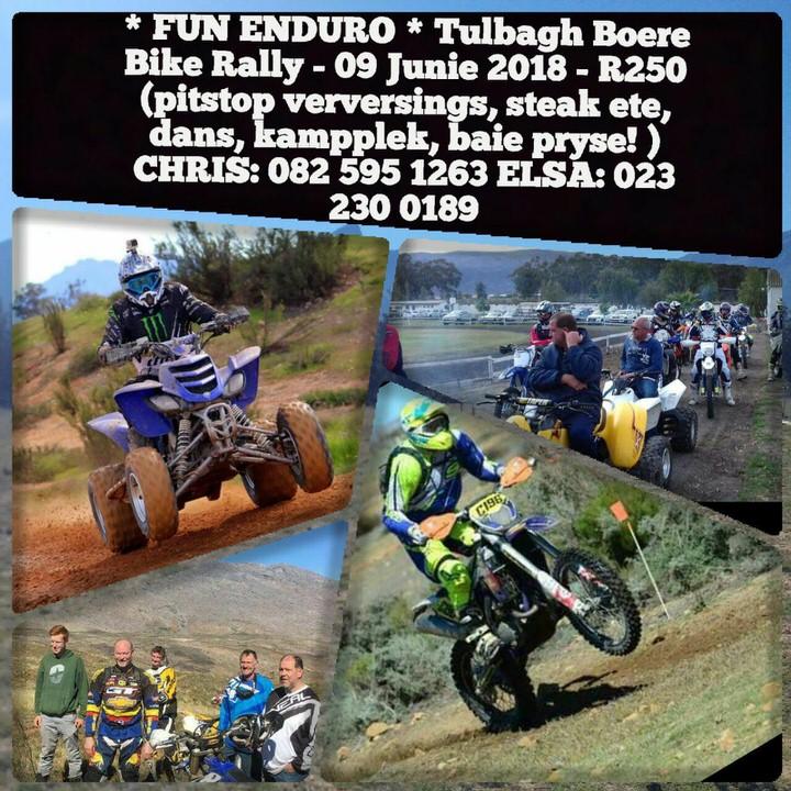 Boere Bike Rally 2018