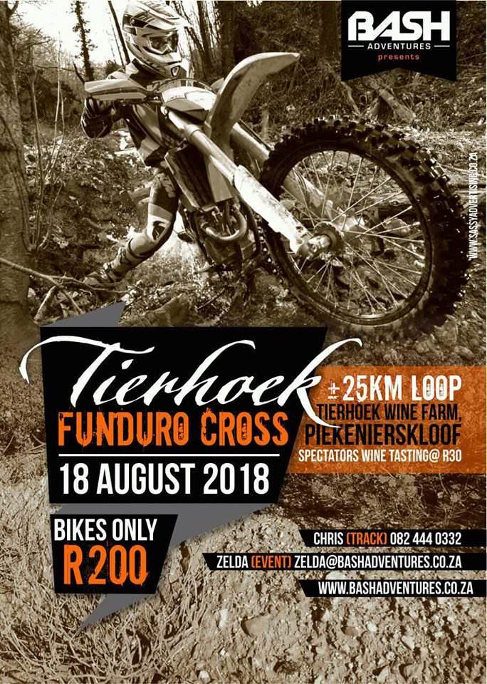 Tierhoek Funduro 2018 Poster