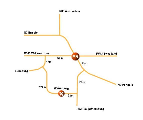 Wittenberg funduro map