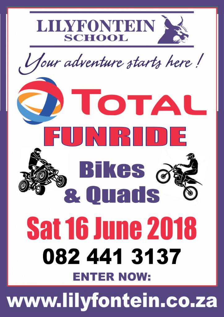 Lilyfontein funduro poster