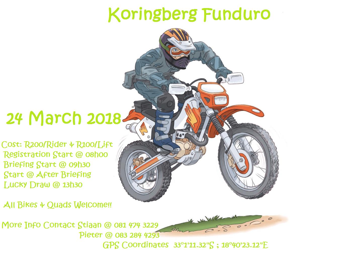 koringberg funduro 2018