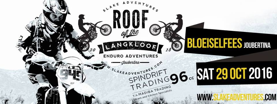 Roof of the Langkloof Funduro 2016